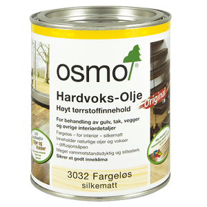 Bilde av Hardvoks-Olje Silkematt 3032 0,375liter Osmo
