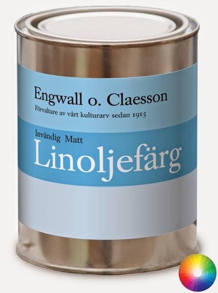 Innvendig brekk matt linoljemaling Engwall o Claesson